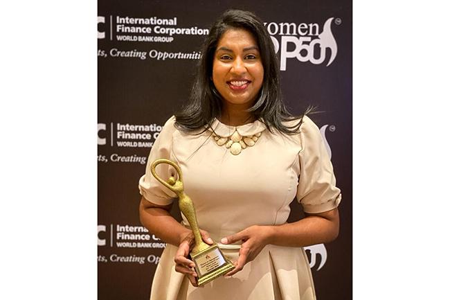 Ada Derana's Indeewari Amuwatte among top inspirational women in Sri Lanka