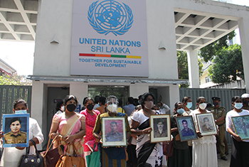 Protest against UN's 'undue influence' on Sri Lanka…