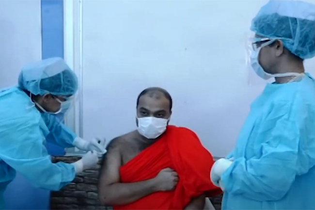 COVID vaccination for monks & other religious leaders