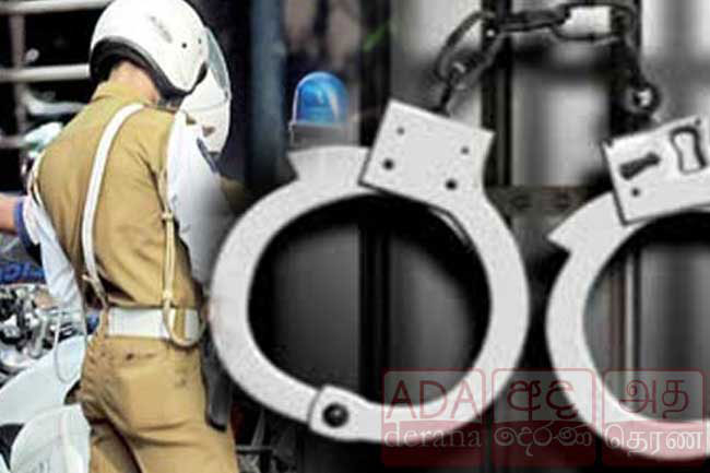 Norton Bridge Traffic OIC, Galle PS member remanded over extortion