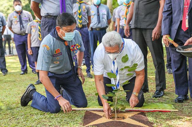 President inaugurates 'Plant A Hope' tree planting program