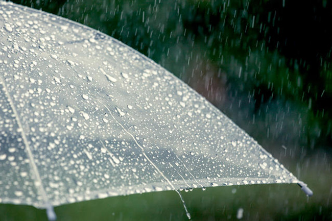 Showers or thundershowers expected in parts of the island