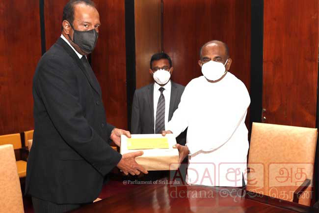 PCoI report on Easter attacks handed over to Speaker