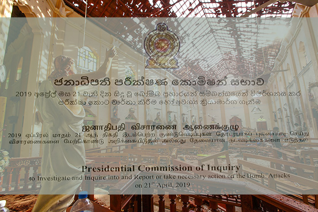 PCoI report on Easter attacks: Criminal proceedings recommended against ex-senior officials