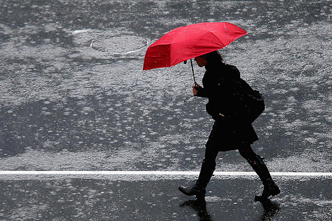 Showers or thundershowers likely in three provinces