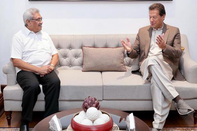 Bilateral talks between President and Pakistan PM underway