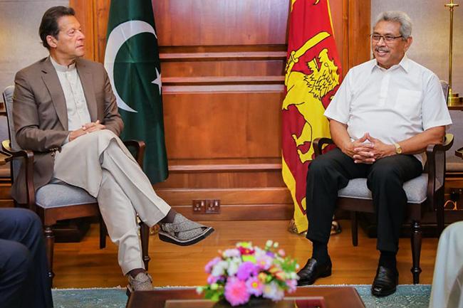 Sri Lanka, Pakistan explore possibilities to promtoe trade & investment