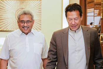 Pakistan PM Imran Khan's Sri Lanka visit…