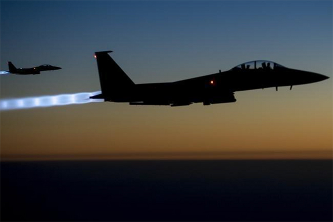 US carries out airstrike against Iran-backed militant site in Syria