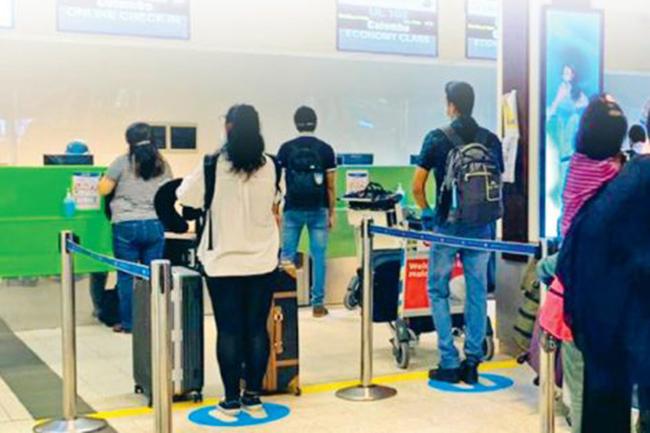 315 Sri Lankans stranded in Oman return to the island