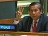 Myanmar's UN envoy defies military; pleads for immediate global action to overturn coup