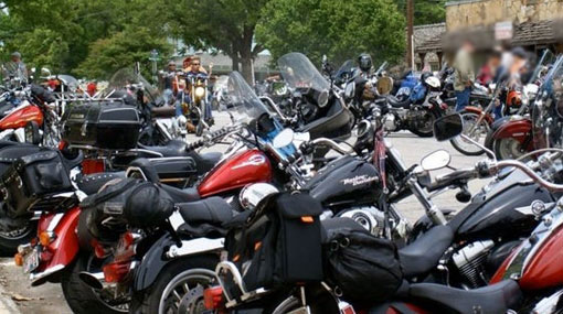 Police raids buying and selling operation of stolen motorcycles