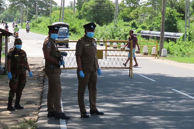 Isolation of several areas in Batticaloa lifted