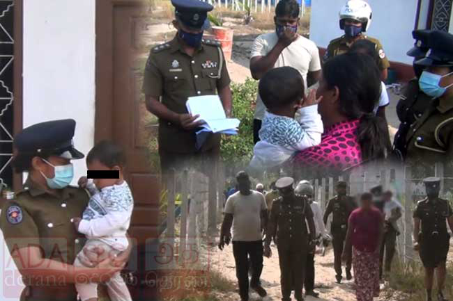 Mother from Jaffna arrested for beating infant with a cane