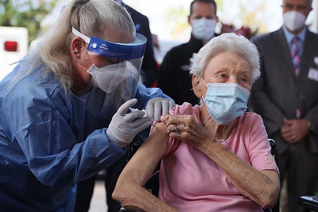 Pfizer and AstraZeneca COVID jabs 'highly effective' in elderly: UK study