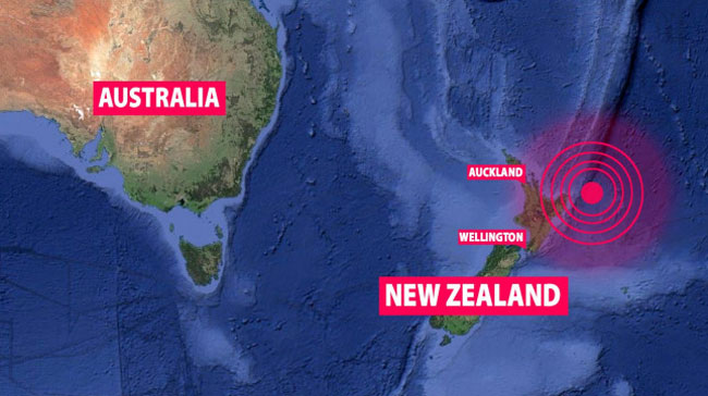Tsunami warning after major earthquake strikes New Zealand