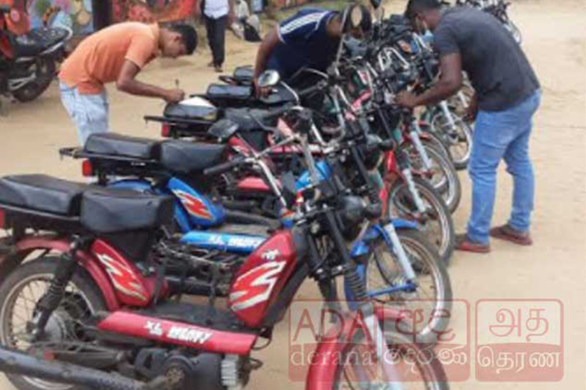 78-year-old arrested with 17 stolen motorcycles