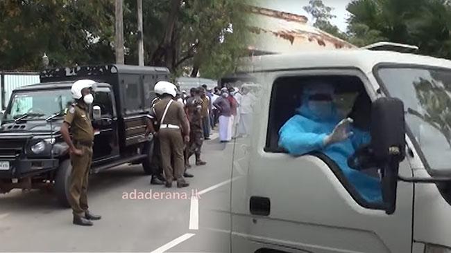 Sri Lanka begins burial of Covid-19 victims