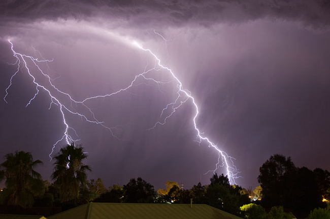 Advisory issued for thundershowers, severe lightning in four provinces