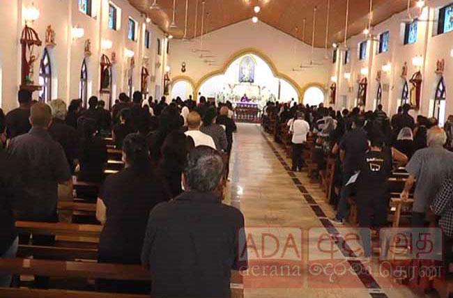 Catholics observe 'Black Sunday'