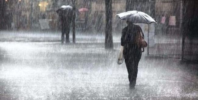 Rainfall over 75 mm expected in some areas
