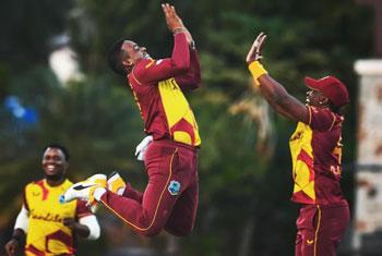Windies clinch T20I series against Sri Lanka