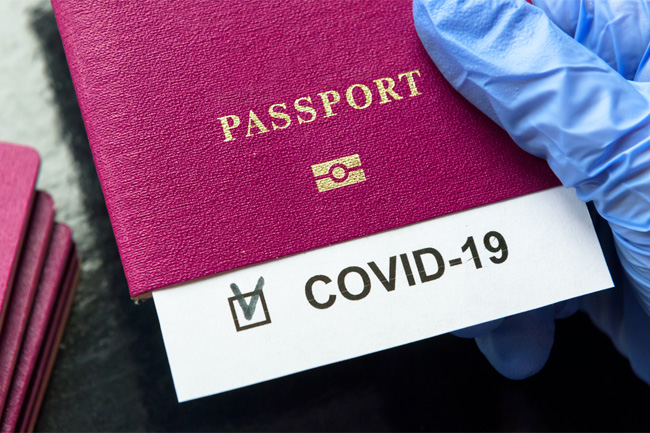 COVID: WHO against mandating 'vaccine passports' for travel