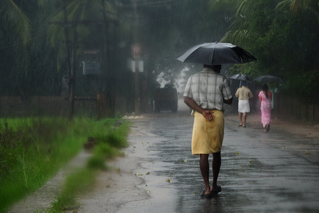 Fairly heavy rainfall expected in some provinces