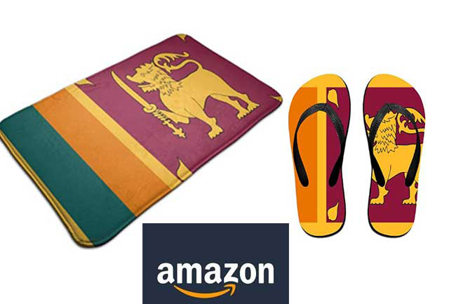 Foreign Min. raises concerns over 'Sri Lankan flag doormat' for sale on Amazon