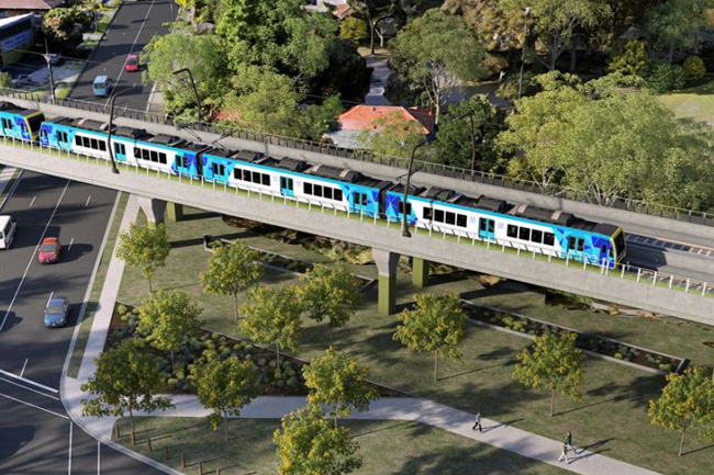 Four elevated railway tracks to be constructed in Colombo