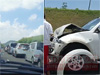 At least 8 vehicle collisions on Southern Expressway disrupt traffic