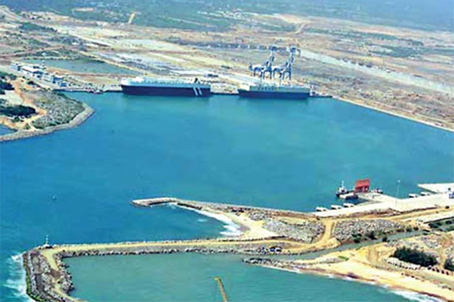 Sri Lanka asks vessel carrying radioactive material to leave H tota Port