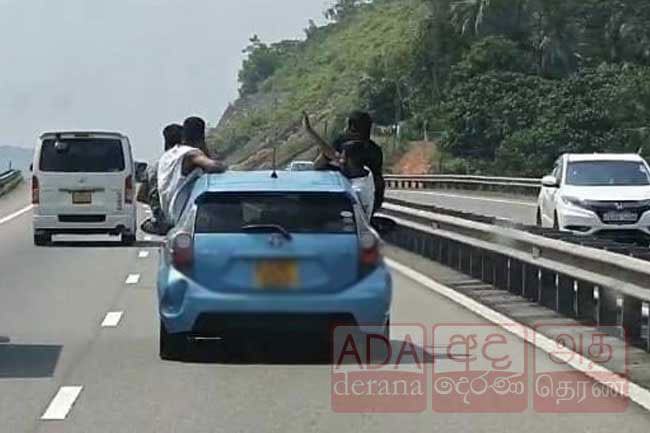 Youths arrested over reckless driving on expressway granted bail