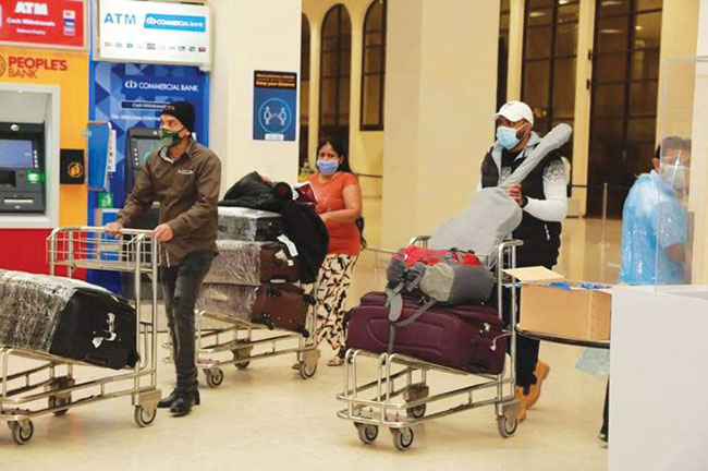 SL Embassy facilitates repatriation of over 6,000 migrant workers from Kuwait