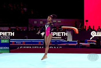 Sri Lankan gymnast Milka Gehani qualifies for Tokyo Olympics