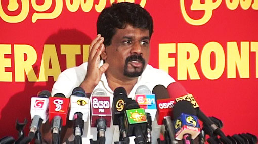 Anura wants answers on Avant Garde issue