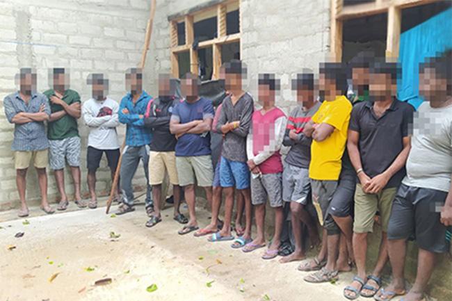 Illegal migration attempt thwarted; 30 suspects under arrest