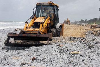 Environmental disaster on Sri Lankan beaches…