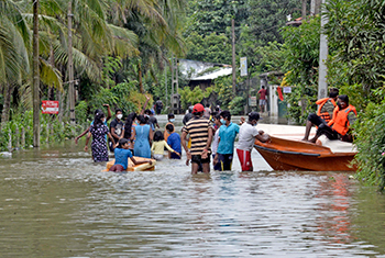 Inclement weather disrupts lives…