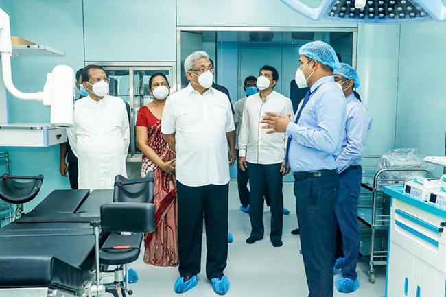 China-Sri Lanka Friendship National Nephrology Specialized Hospital declared open