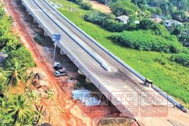 Construction of Central Expressway in Gampaha paused