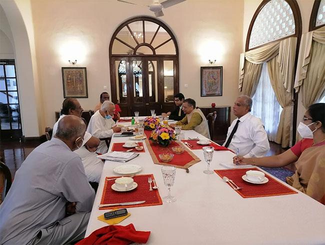 TNA delegation meets Indian High Commissioner for talks