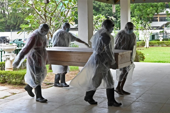 Sri Lanka records 47 new COVID-related deaths