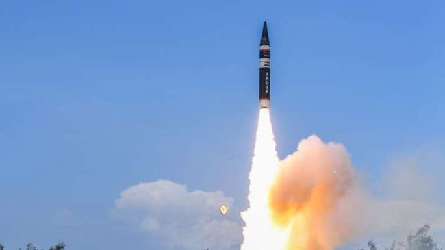 India successfully test fires nuclear-capable Agni-Prime missile
