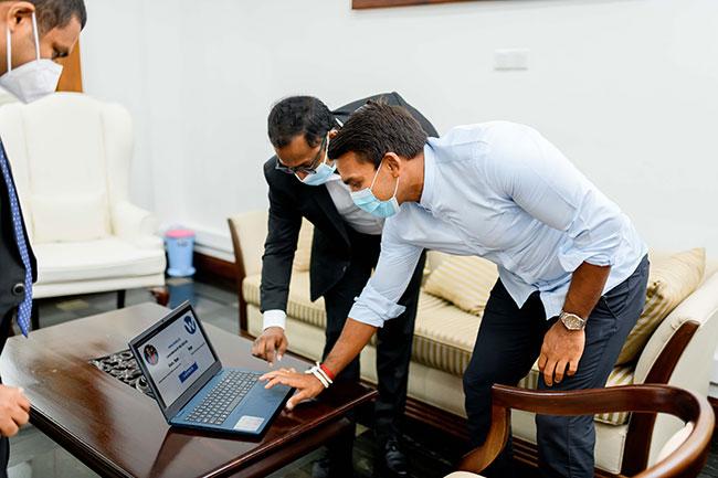 Sri Lanka's first online book library for children