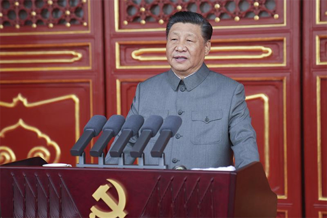 China will not be bullied, Xi Jinping warns as Communist Party marks centenary