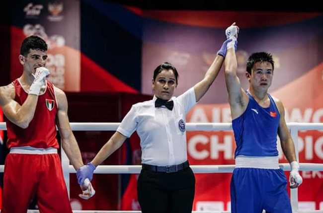 Local boxer becomes first Sri Lankan female to judge Olympic event