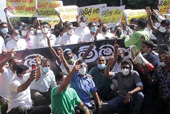 SJB protest...