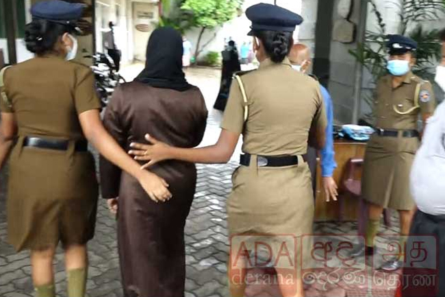Rishad's wife & three others brought to court