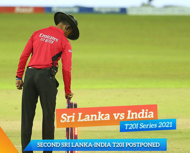 2nd T20I postponed after Indian player tests Covid positive